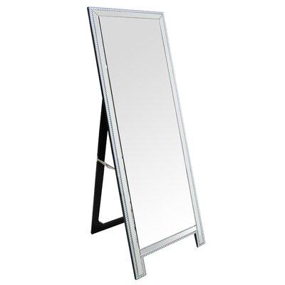 Rectangle Studded Floor Mirror