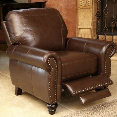 Scarsdale Top Grain Leather Recliner