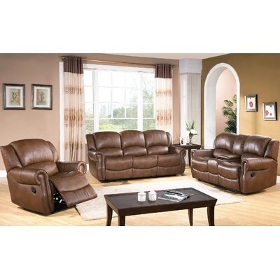 Darby Home Co DBHC4939 27052336 Baynes 3 Piece Reclining Sofa Set