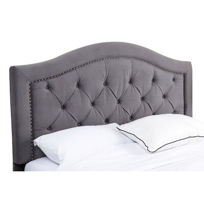 Gossman Upholstered Panel Headboard Size: King/California King