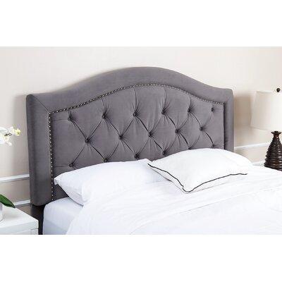Gossman Upholstered Panel Headboard Size: Full/Queen