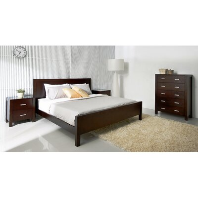 Azara Panel 4 Piece Bedroom Collection Size: California King