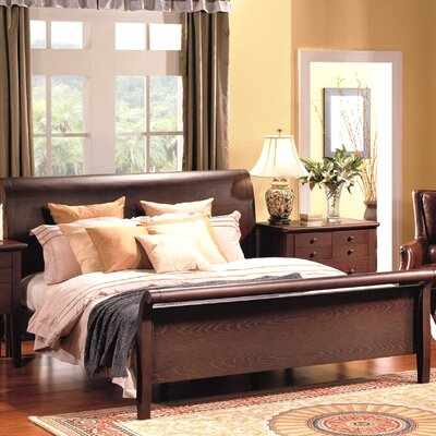 No credit check financing Novara Sleigh Bed Size: California ...