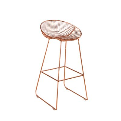 Eustaquio 29.5 Iron Bar Stool