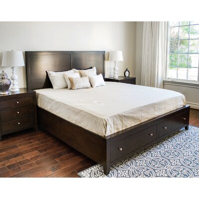 Oneill Storage Panel 3 Piece Bedroom Set Size: King