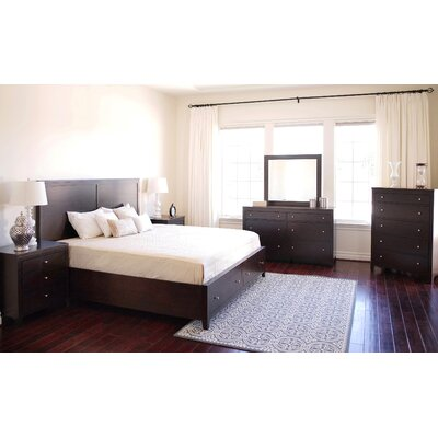 Oneill Storage Panel 6 Piece Bedroom Set Size: Queen