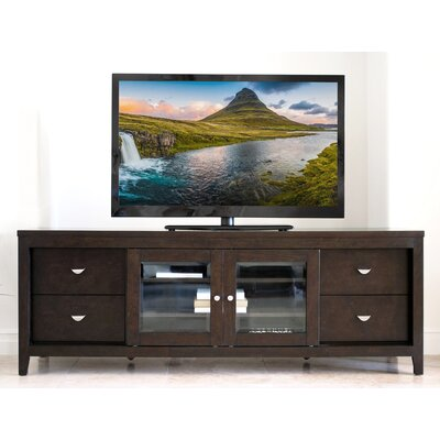 Linglestown Multi-Use TV Stand Finish: Acacia Brown