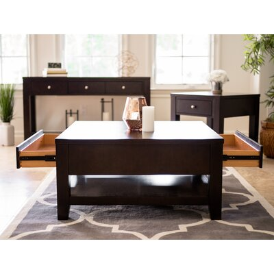 Linglestown 3 Piece Coffee Table Set