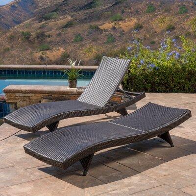 Destini Double Chaise Lounge