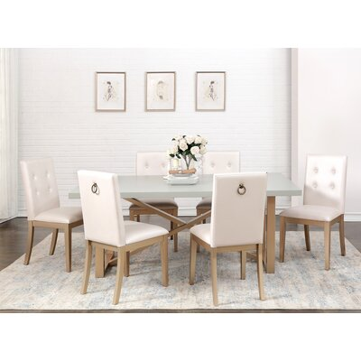 Anguiano 7 Piece Dining Set