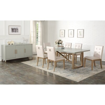 Anguiano 8 Piece Dining Set