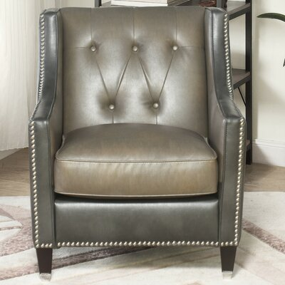 Beatson Faux Leather Armchair
