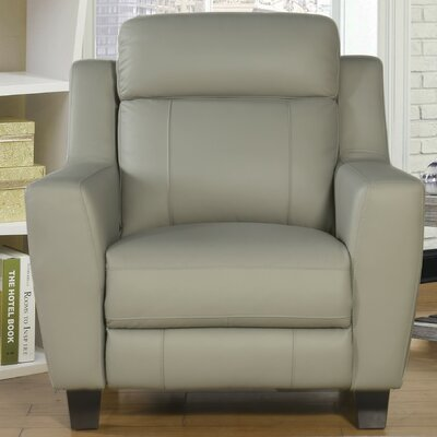 Florham Top Grain Leather Power Recliner