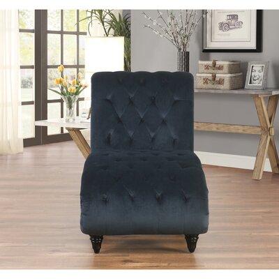 Houghton Tufted Velvet Chaise Lounge