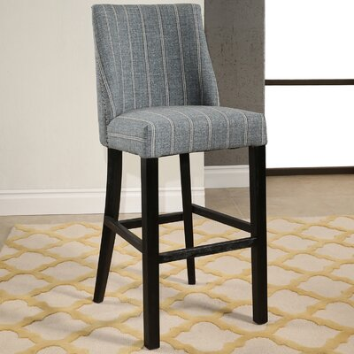 Rouet Pinstripe 30.5 Bar Stool