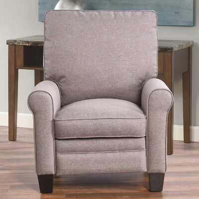 Bulwell Pushback Fabric Recliner Upholstery: Taupe