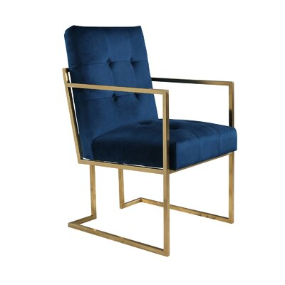 Greenwich Armchair Upholstery: Navy
