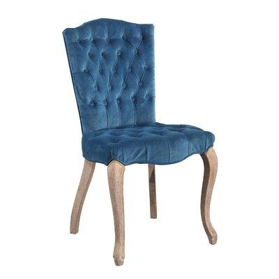 Manlius Vintage Tufted Velvet Upholstered Dining Chair