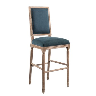Manlius Vintage Rectangle Back 30 Bar Stool