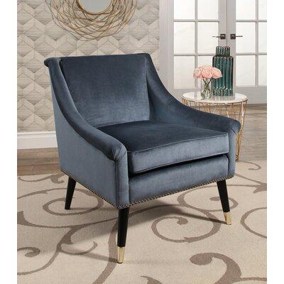 Woodford Velvet Swoop Arm Chair