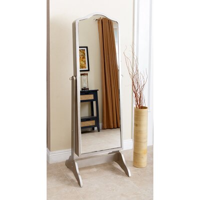 Auston Free Standing Jewelry Armoire with Mirror