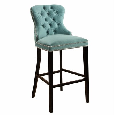 Mehdi 30 Bar Stool Color: Emerald Green