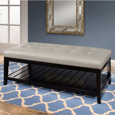 Phylicia Cocktail Ottoman Upholstery: Gray