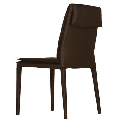 Daisy Side Chair (Set of 2) Upholstery: Brown