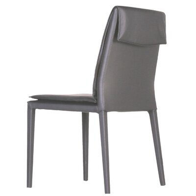 Daisy Side Chair (Set of 2) Upholstery: Grey
