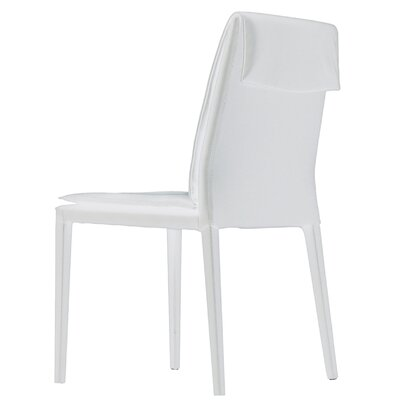 Daisy Side Chair (Set of 2) Upholstery: White