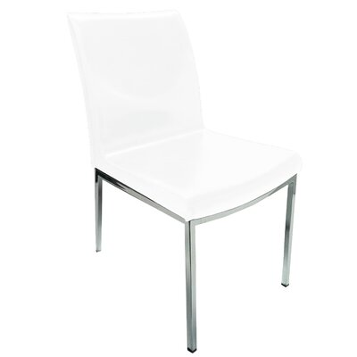 Opel Side Chair (Set of 2) Upholstery: White