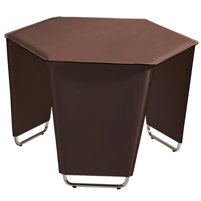 Movado End Table Color: Brown