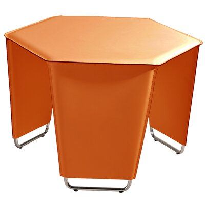 Movado End Table Color: Orange