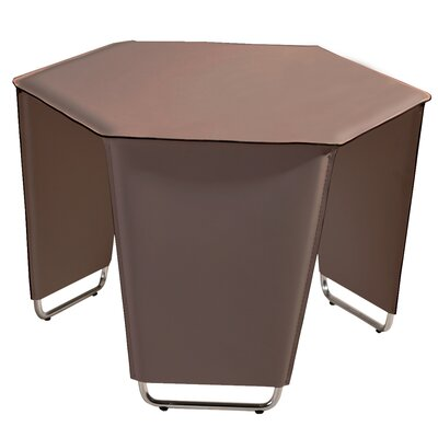 Movado End Table Color: Taupe