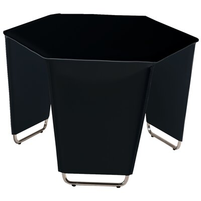 Movado End Table Color: Black