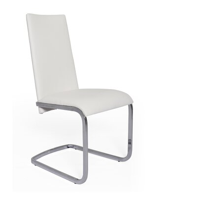 Jolie Side Chair (Set of 2) Upholstery: White