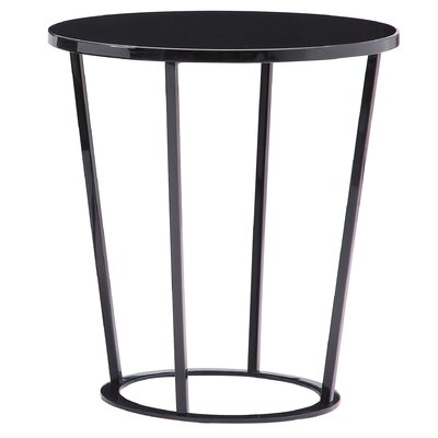 Massa End Table Color: Dark Grey