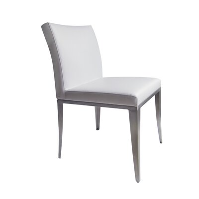August Side Chair (Set of 2) Upholstery: White