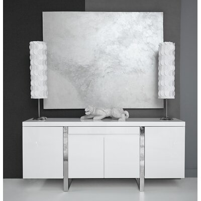 Sierra Sideboard Color: White Gloss