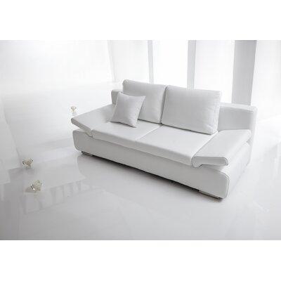 Bellini Modern Elsa Leather Sofabed - Color: Brown
