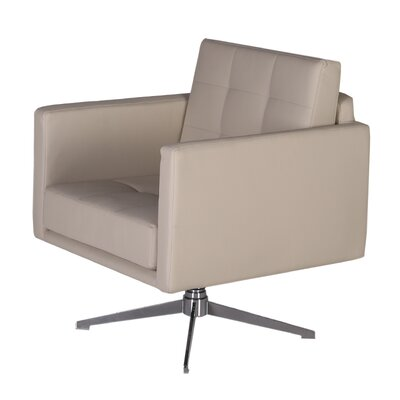 Mason Arm Chair Color: Brown