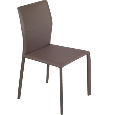 Adele Side Chair (Set of 2) Finish: Brown