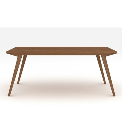 Branden Dining Table Finish: Walnut