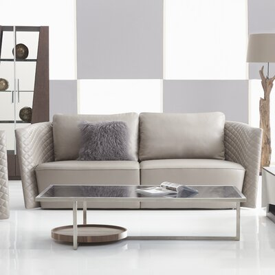 Francis Leather Sofa