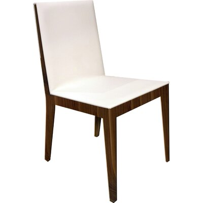 Adeline Parsons Chair (Set of 2) Upholstery: White