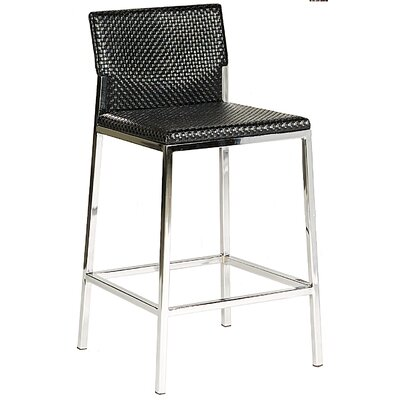 Avanti 29 inch Bar Stool Upholstery: Black