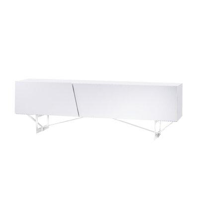 Cheap Bellini Modern Living Saleen 79″ TV Stand in White Gloss (BIM1082)