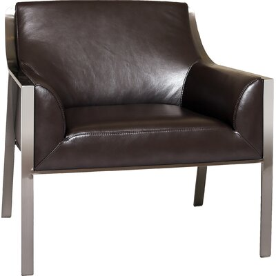 Malibu Armchair Color: Black