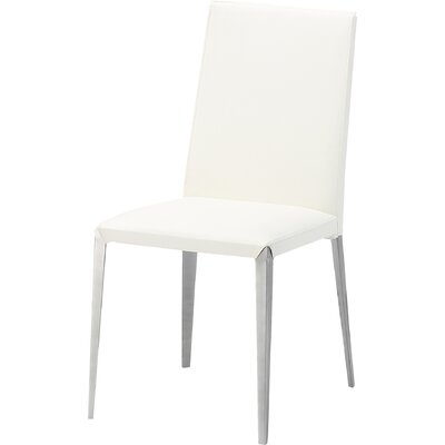 Air Side Chair (Set of 2) Upholstery: White