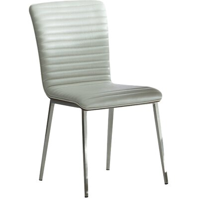 Fernanda Side Chair (Set of 2) Upholstery: Grey